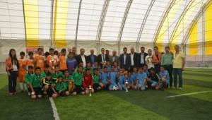Patnos'ta Okullar Arası Futbol Turnuvası