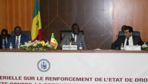 Afrikalı Bakanlar, Hukukun Üstünlüğü ve Yolsuzlukla Mücadele İçin Senegal'de