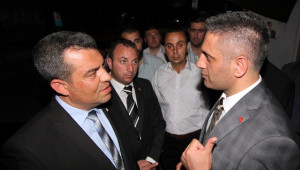 Osmanlı Ocakları Genel Başkanı Canpolat Saruhanlı'da