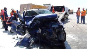 Şile Yolunda Kaza: 2 Ağır Yaralı