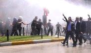 HDP Erzurum Mitingine Saldırı: Şoför Diri Diri Yakıldı!