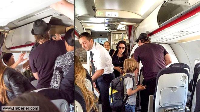 Brad Pitt-Angelina Jolie Çifti Ekonomi Sınıfında Uçtu