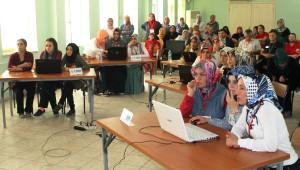 Sakarya'da Afad, Halk Eğitim Merkezi ve S.a.b.a.h. Derneği İşbirliği ile Afet Bilinci Bilgi...