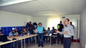 Maden İş Kırka Şubesinden İşçi Sağlığı ve Güvenliği Eğitimi
