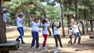 Şehitkamil Belediyesi Gençlik Kampında Survivor Heyecanı Yaşanıyor