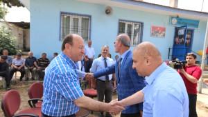 Başkan Özakcan El Sanatları Sergi Açılışına Katıldı