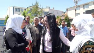 Hdp Eş Genel Başkanı Yüksekdağ Özalp'ta
