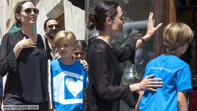 Angelina Jolie, Mardin Sokaklarında
