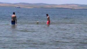 Ramazan Gelmesiyle Lapseki Sahili'nde Yoğunluk Azaldı