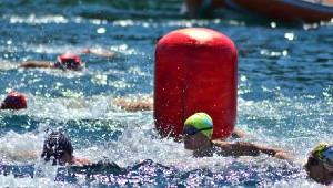 Türkiye Açık Su Yüzme Şampiyonası Foça'da Yapıldı