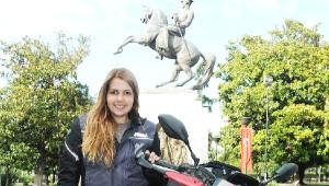 Kadına Şiddete Karşı Motosikletle 7 Bin Kilometre Yol Gidecek