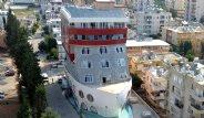 Mersin'de Gemi Şeklinde Öğrenci Yurdu Yapıldı