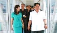 Kuzey Kore Lideri Havalimanı Teftişinde