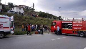 Sungurlu'da Trafik Kazası: 6 Yaralı