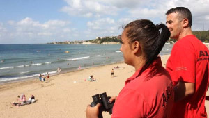 Kocaeli Kurtarma Timleri, Plajlarda Boğulma Tehlikesi Geçiren 32 Kişiyi Kurtardı