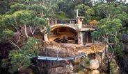 Miras Kalan Mağarayı Muhteşem Bir Eve Dönüştürdü