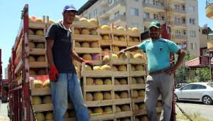 Kırıkhan'da Kavun Hasadı Geç Başladı, Üretici Umduğunu Bulamadı