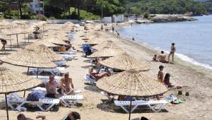 Kandıra Sahillerindeki Plajlarda Hareketlilik Başladı