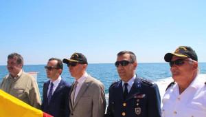 Şile'deki Denizcilik ve Kabotaj Bayramı Etkinliklerinde Deniz Şehitleri Anıldı