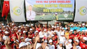 Saruhanlı Belediyesi Yaz Spor Okulları Açıldı
