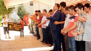 Gaziantep'te Doğu Türkistan'da Ölenler İçin Gıyabi Cenaze Namazı
