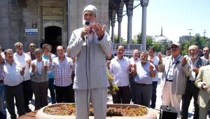 Kayseri'de, Doğu Türkistan İçin Cuma Çıkışı Gösteri