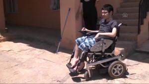 Engelli Soner Lys'de Tunceli Birincisi Oldu