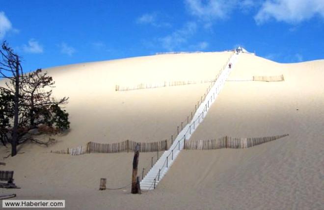 Fransa'daki Mucizevi Kum Tepesi