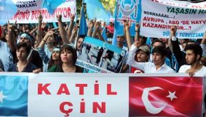 Başkent'te Doğu Türkistan'daki Zulüm Protesto Edildi