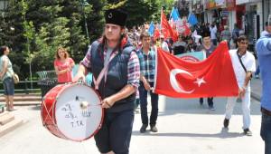 Eskişehir'de Urumçi Katliamı Protesto Edildi