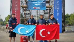 ABD'de 15 Madalya Kazanan İstanbul İtfaiyesinden Doğu Türkistan'a Destek