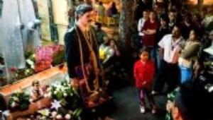 Meksika'daki 'Mafya Baba' Türbesi