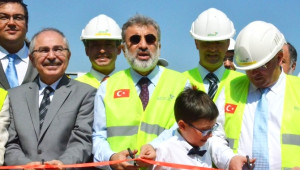 Bakan Yıldız, Biyogaz Üretim Tesisinin Açılışını Yaptı