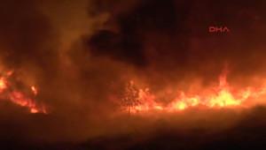 Divriği Ulu Camii Yakınında Çıkan Yangın Vatandaşlarda Paniğe Yol Açtı