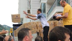 Sedat Peker'den Hemşehrilerine Yardım Paketi