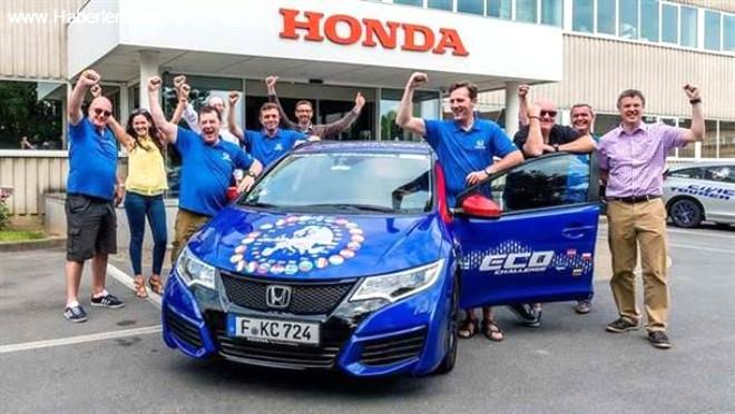 Honda Yakıt Tüketimi Rekorunu Kırdı