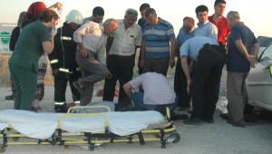 Karapınar'da Zincirleme Kaza: 4 Yaralı