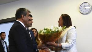 AK Parti ve DSP'den CHP'ye Bayram Ziyareti