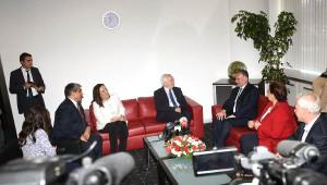 Vatan Partisi ve Hdp Heyeti CHP'yi Ziyaret Etti
