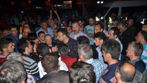 Zonguldak'ın Devrek İlçesinde 'Heyelan' Eylemi