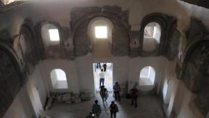 Dedeleri Şebinkarahisar'dan Giden Yunanlı Turistler Meryemana Manastırı'nı Gezdi