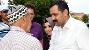 AK Parti Antalya İl Başkanı Sümer Bir Doğu, Bir Batı İlçelerinde