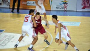 Erkek Milli Basketbol Takımı Eyof2015'te Letonya'ya Yenildi