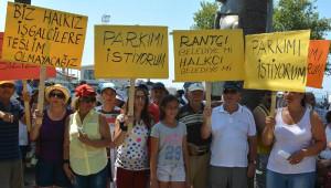 Dikili'de 'İşgalci' Tepkisi Sürüyor