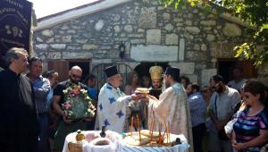 Hagia Paraskevi Day Held On Tenedos İsland