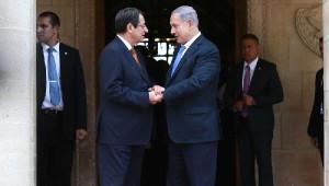 İsrail Başbakanı Netanyahu Güney Kıbrıs'ı Ziyaret Etti