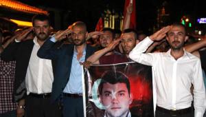 Bolu'da Terör Protestosu