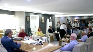 İç Anadolu Belediyeler Birliği Yönetimi Sungurlu'da