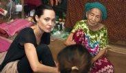 Angelina Jolie Myanmarlı Kadınlarla Buluştu