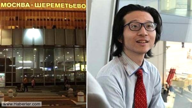 Moskova Havaalanında Yaşayan Japon Gazeteci